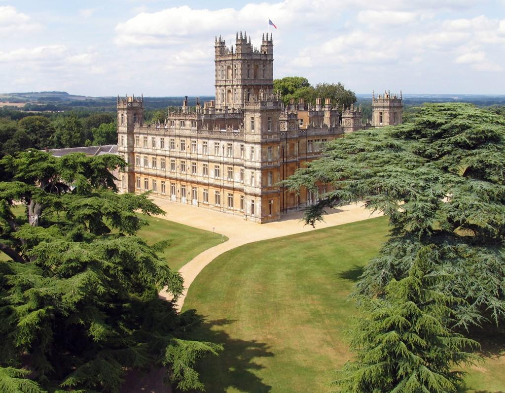 tezturas downton abbey castle