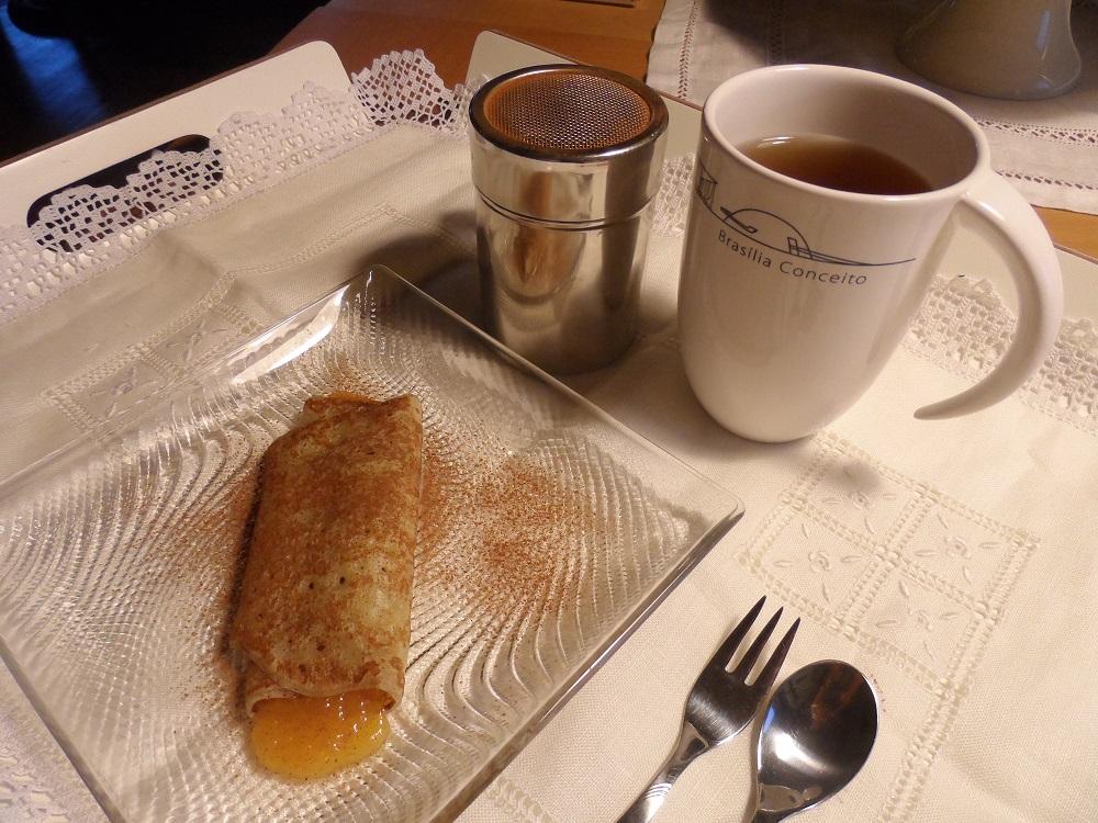 hora do chá-crepe doce de ovos-caneca brasília