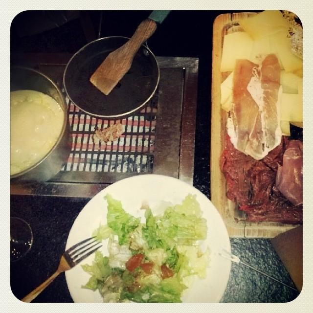 Fondue e raclette
