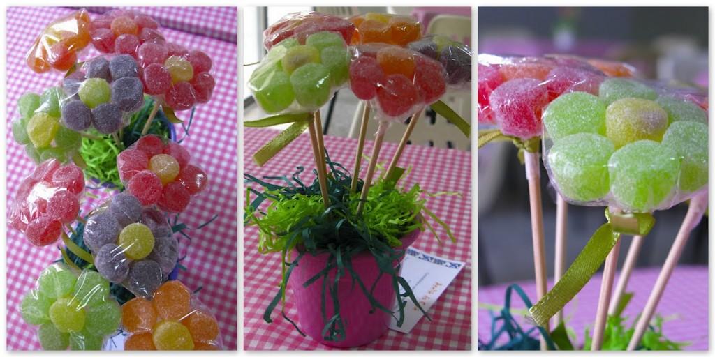 flores de gomas