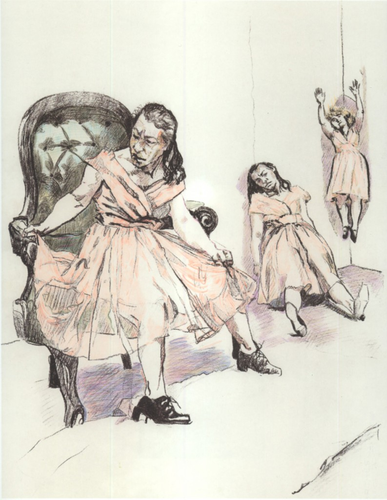 gravura-o-vestido-cor-de-salmao-paula-rego