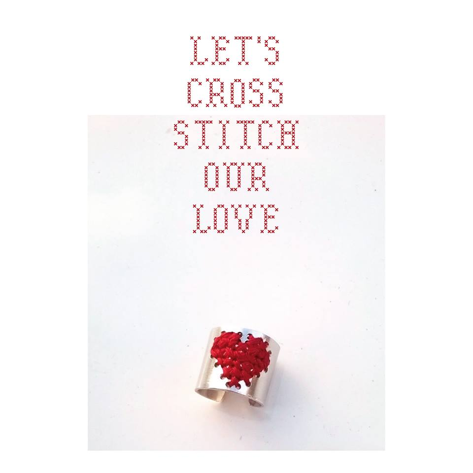 lets_cross_stitch_our_love_Diana Coelho Acessórios | Accessories